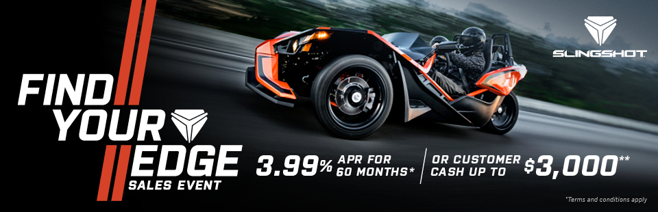 Polaris Slingshot Find Your Edge Sales Event