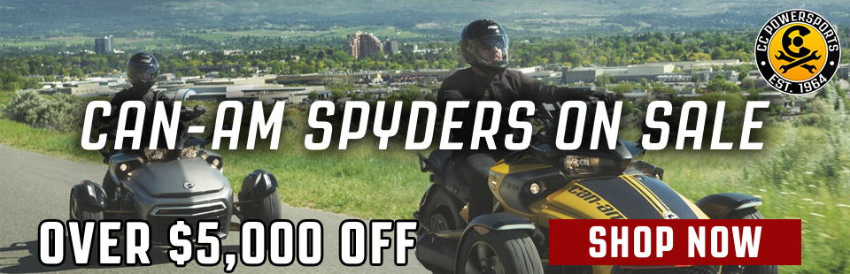 Can-Am Spyder Sale