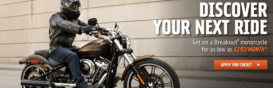 Amazing low rates for Softails and Sportsters