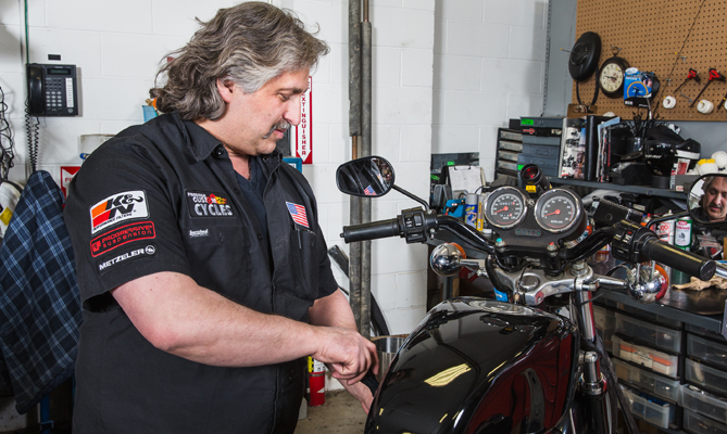 Motorcycle Service Technicians
