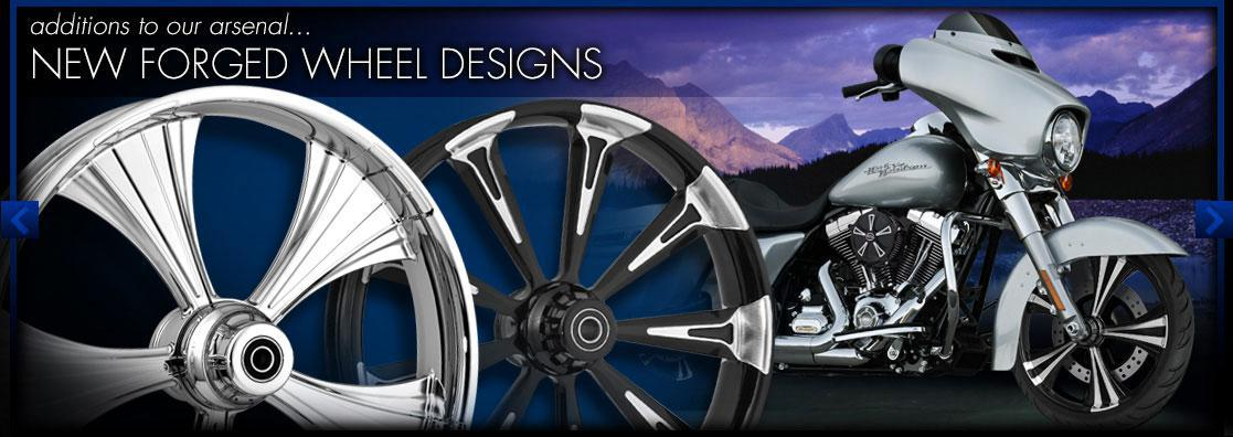 All new forged wheel designs from RC Components!