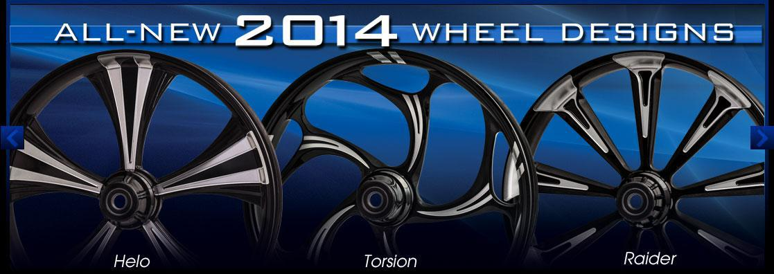 All new 2014 RC Components Wheel Designs!
