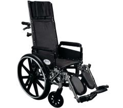 Deluxe Aluminum Recliner Wheelchair