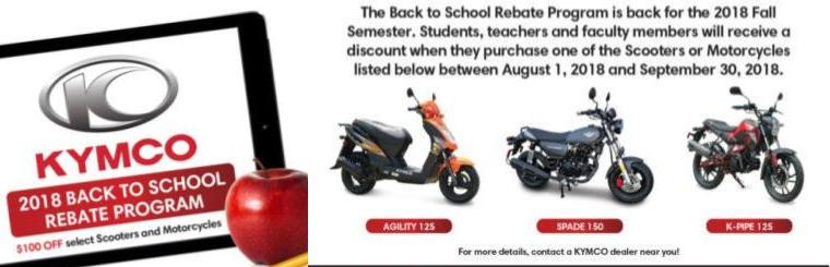 Back to School Rebate
