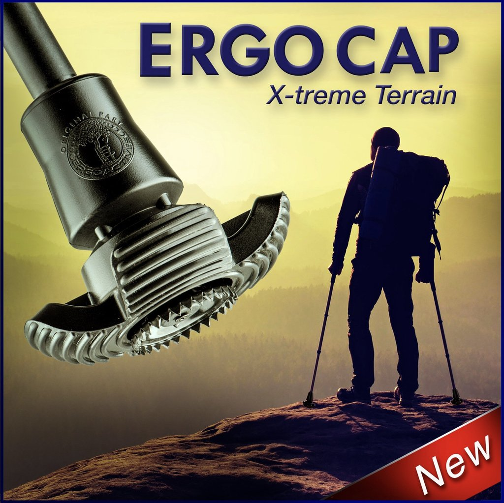 Ergocap All-Terrain Tip (for canes & crutches)