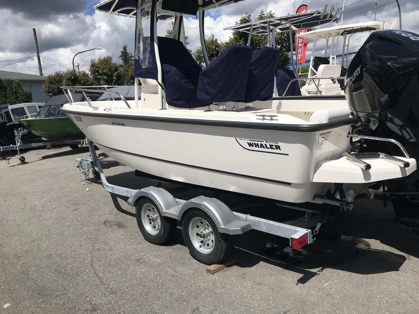 2019 Boston Whaler boat for sale, model of the boat is 190 Outrage & Image # 1 of 12