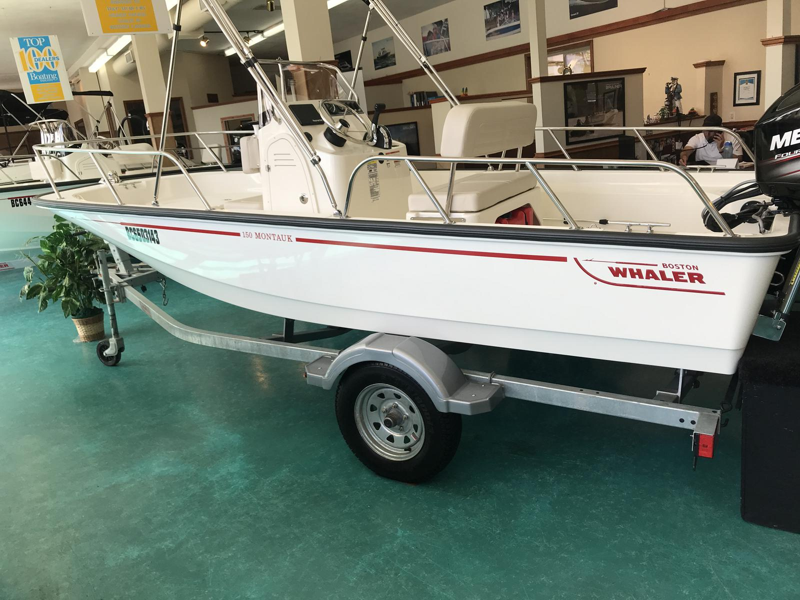 2019 Boston Whaler boat for sale, model of the boat is 150 Montauk & Image # 1 of 11