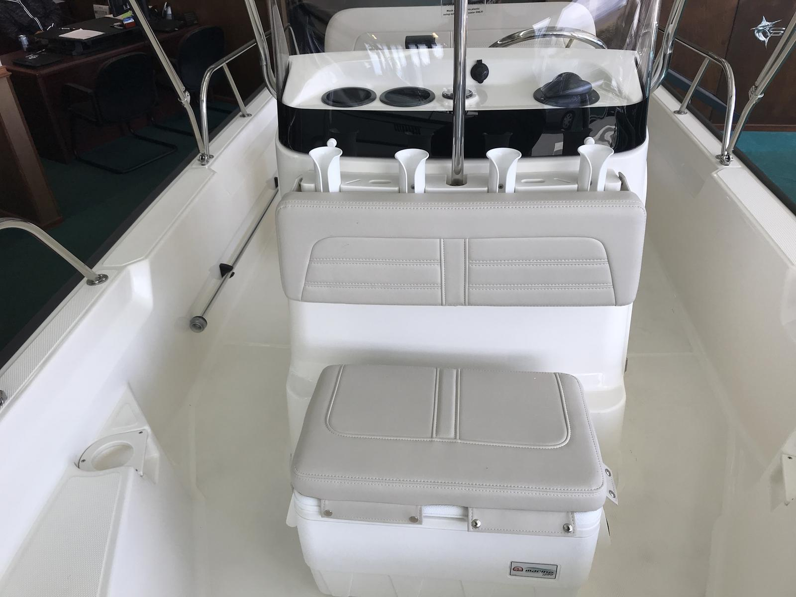 2019 Boston Whaler boat for sale, model of the boat is 150 Montauk & Image # 3 of 11