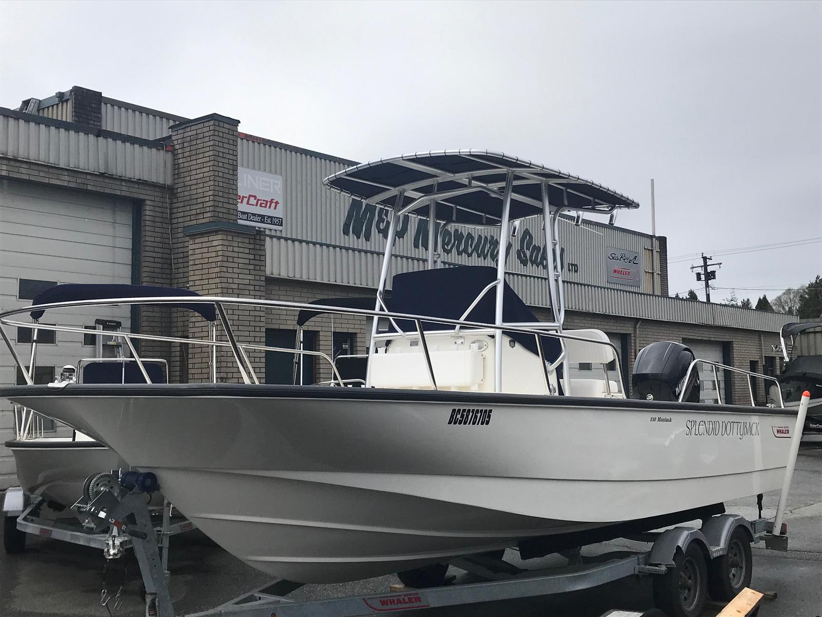 2018 Boston Whaler boat for sale, model of the boat is 210 Montauk & Image # 1 of 7