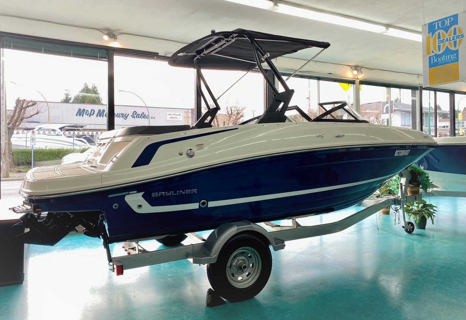 2021 Bayliner VR5 Bowrider for sale in Burnaby, BC. M & P Mercury Sales Ltd.