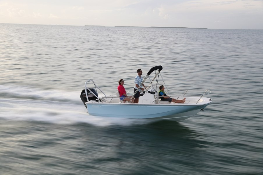 2021 Boston Whaler boat for sale, model of the boat is 170 Montauk & Image # 1 of 5