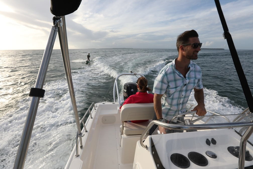 2021 Boston Whaler boat for sale, model of the boat is 170 Montauk & Image # 2 of 5