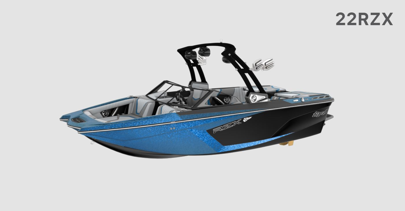 2021 Tige boat for sale, model of the boat is 22 RZX & Image # 1 of 10