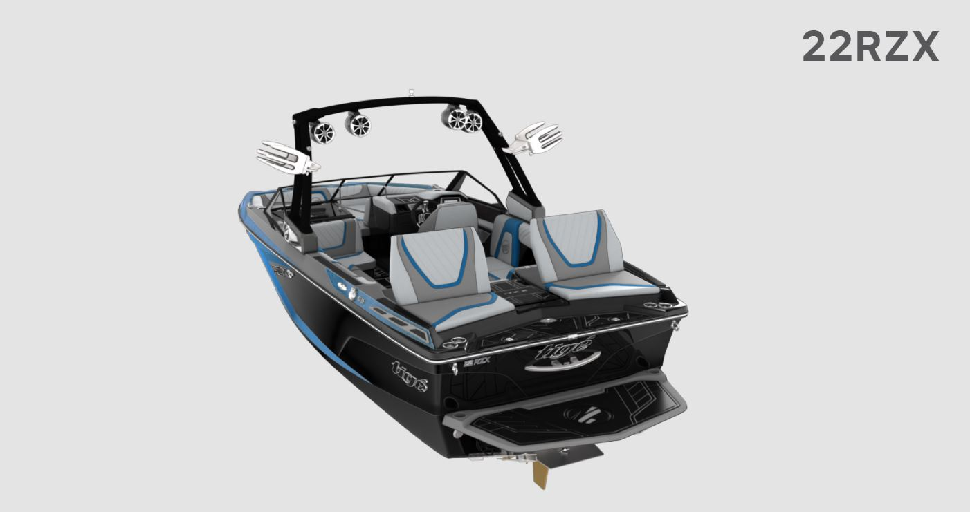 2021 Tige boat for sale, model of the boat is 22 RZX & Image # 2 of 10
