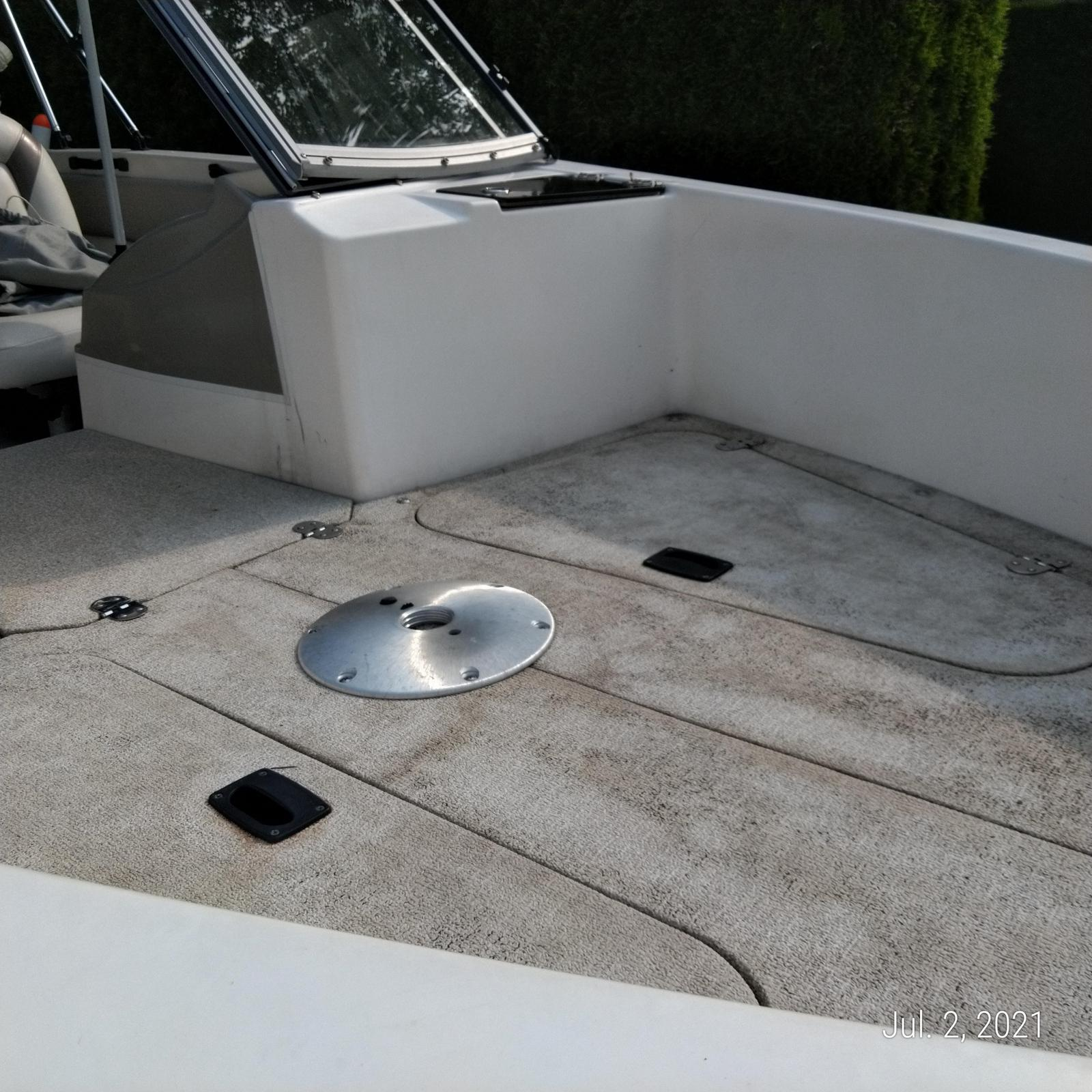 2011 Larson boat for sale, model of the boat is Fincraft 1850 DC O/B & Image # 5 of 6