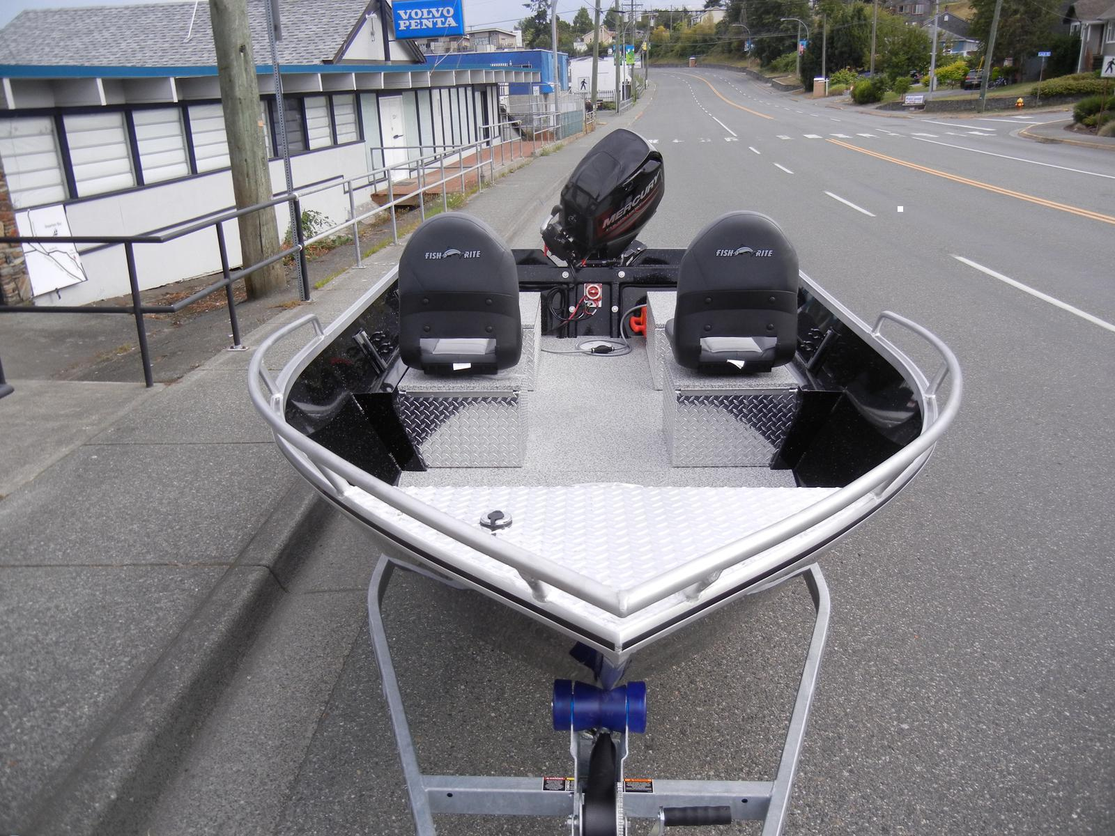 2017 Fish Rite Aluminum boat for sale, model of the boat is 15 Fish Master & Image # 2 of 2