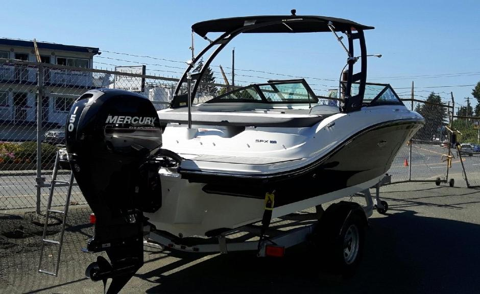 2018 Sea Ray boat for sale, model of the boat is SPO190 & Image # 1 of 6