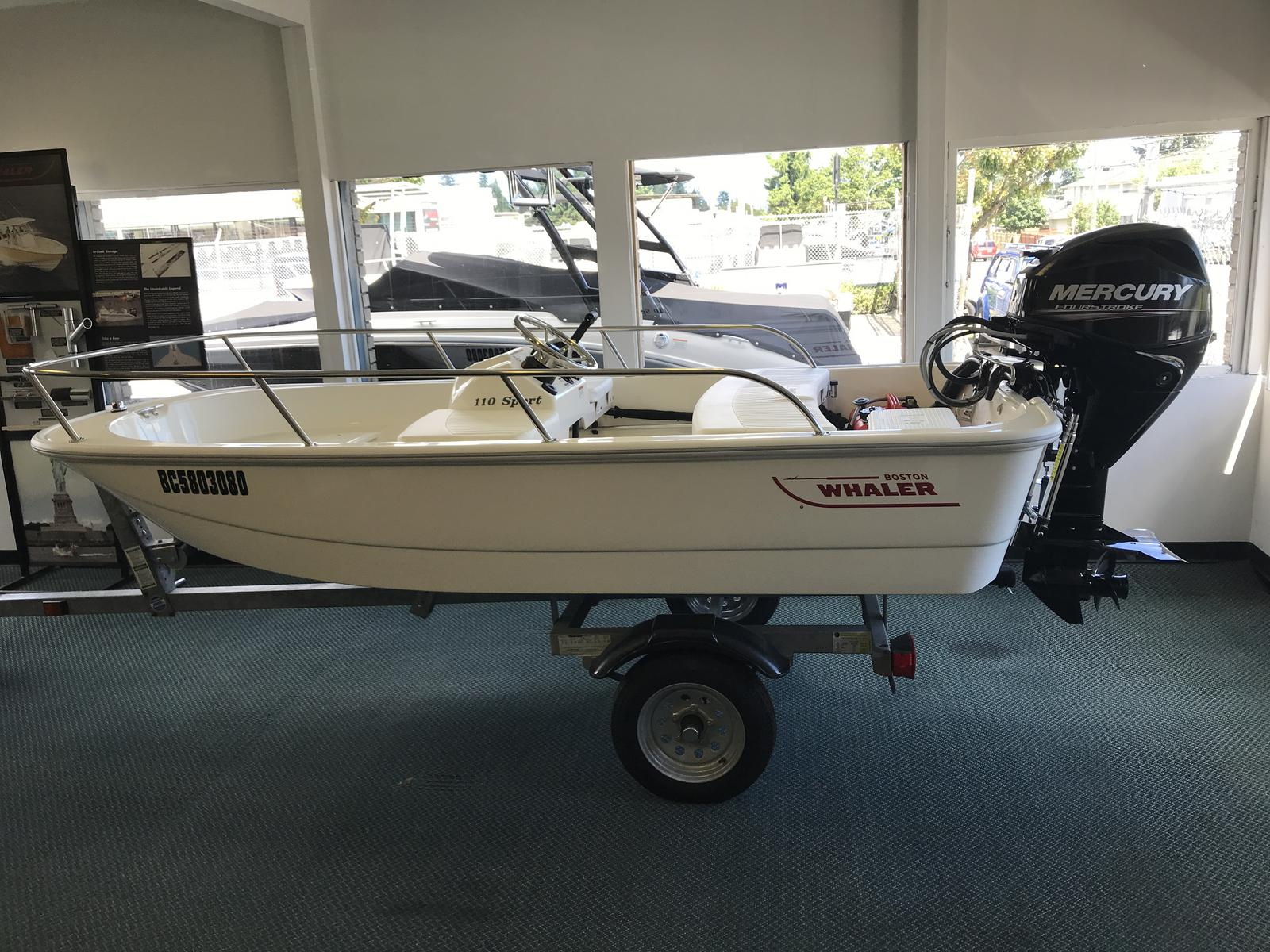 2018 Boston Whaler boat for sale, model of the boat is 110 Sport & Image # 1 of 2