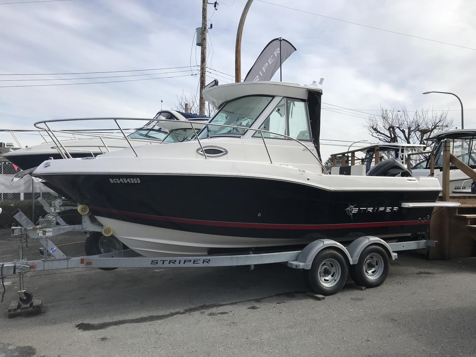 2017 Striper boat for sale, model of the boat is 200 Walkaround OB & Image # 1 of 4