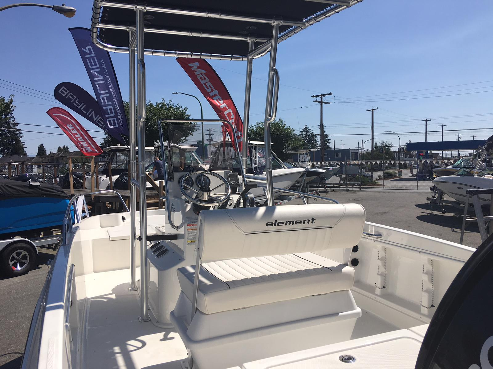 2018 Bayliner boat for sale, model of the boat is Element F18 & Image # 3 of 6
