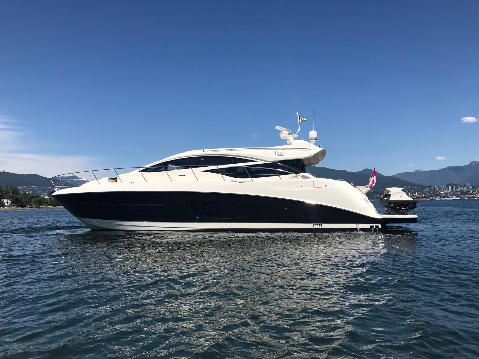 For Sale: 2017 Sea Ray L590 58ft<br/>M & P Yacht Centre At Coal Harbour