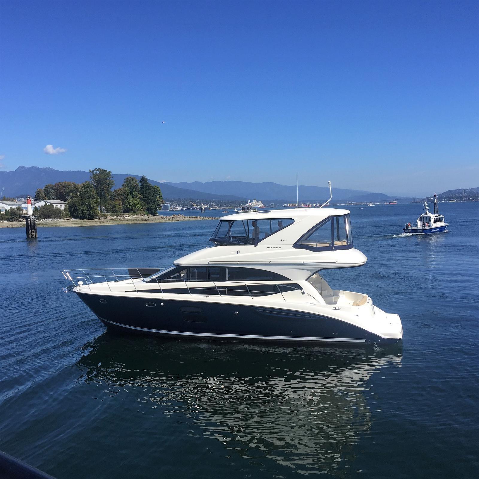 For Sale: 2015 Meridian 44 Sedan Bridge 47ft<br/>M & P Yacht Centre At Coal Harbour