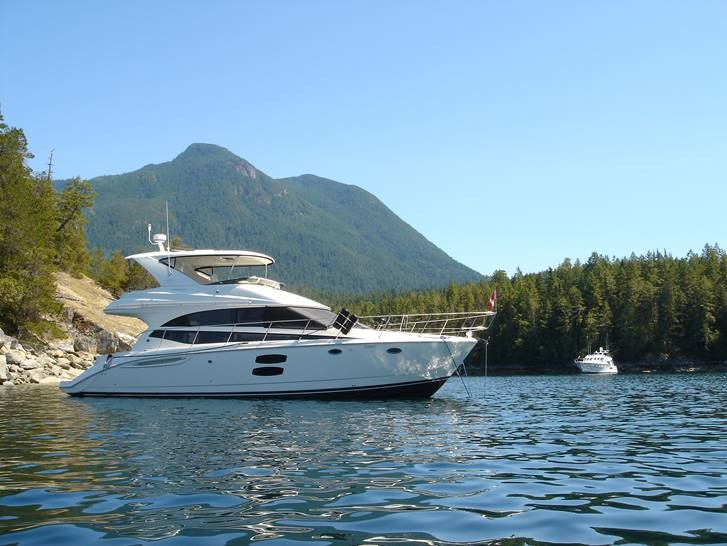 For Sale: 2009 Meridian 44 Sedan Bridge 47ft<br/>M & P Yacht Centre At Coal Harbour