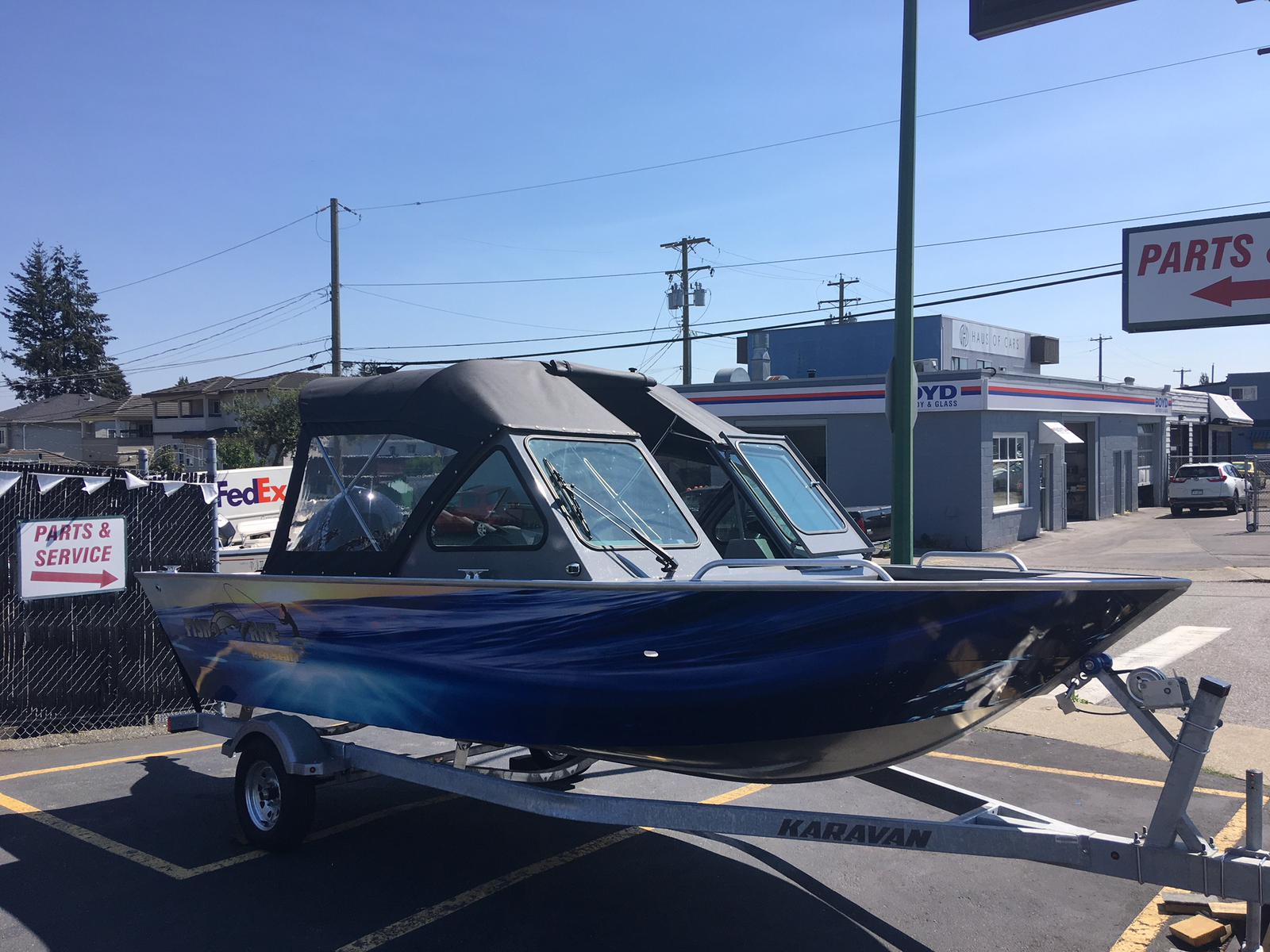 2019 Fish Rite Aluminum boat for sale, model of the boat is 18 Stalker & Image # 1 of 3