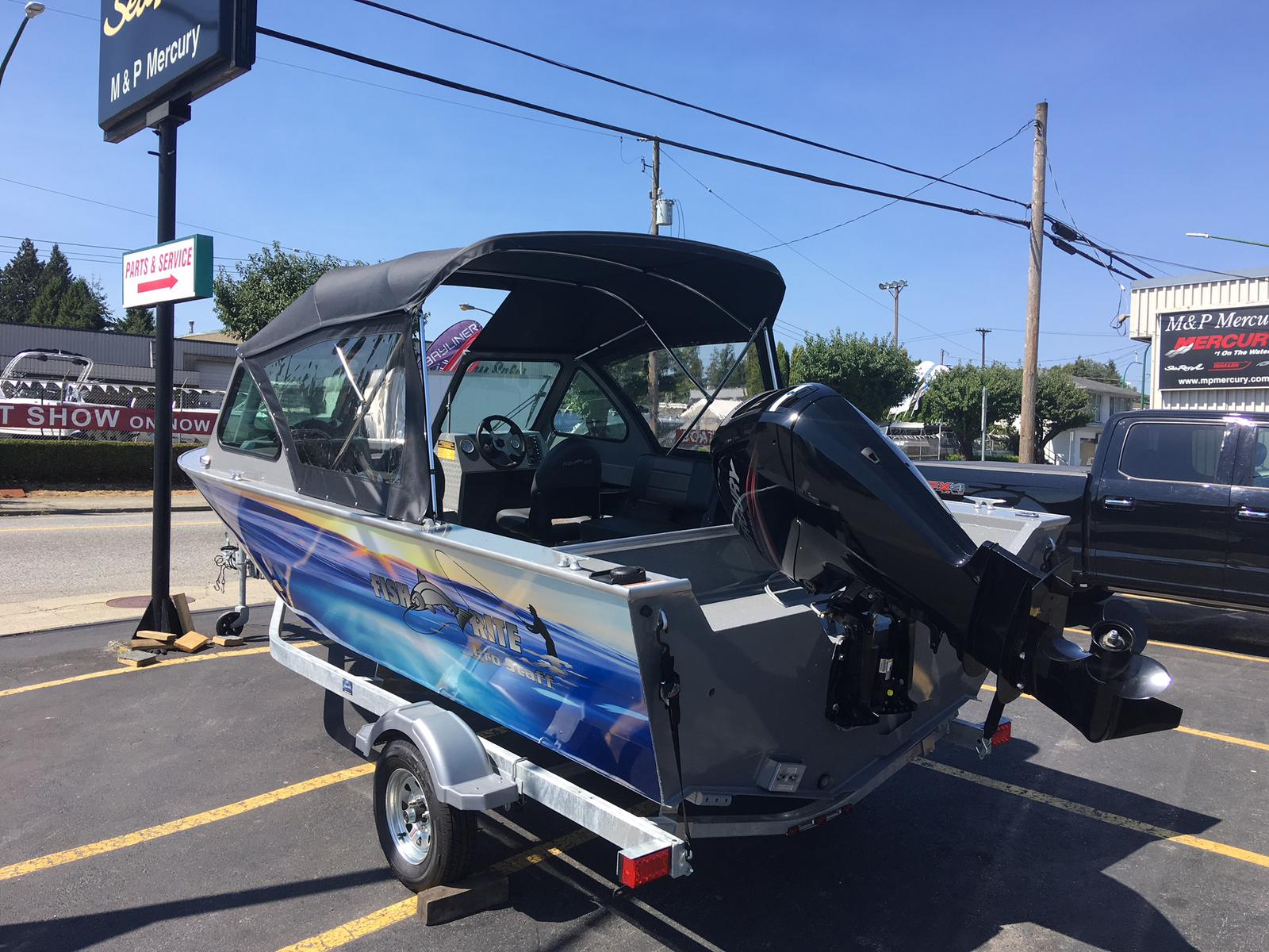 2019 Fish Rite Aluminum boat for sale, model of the boat is 18 Stalker & Image # 2 of 3