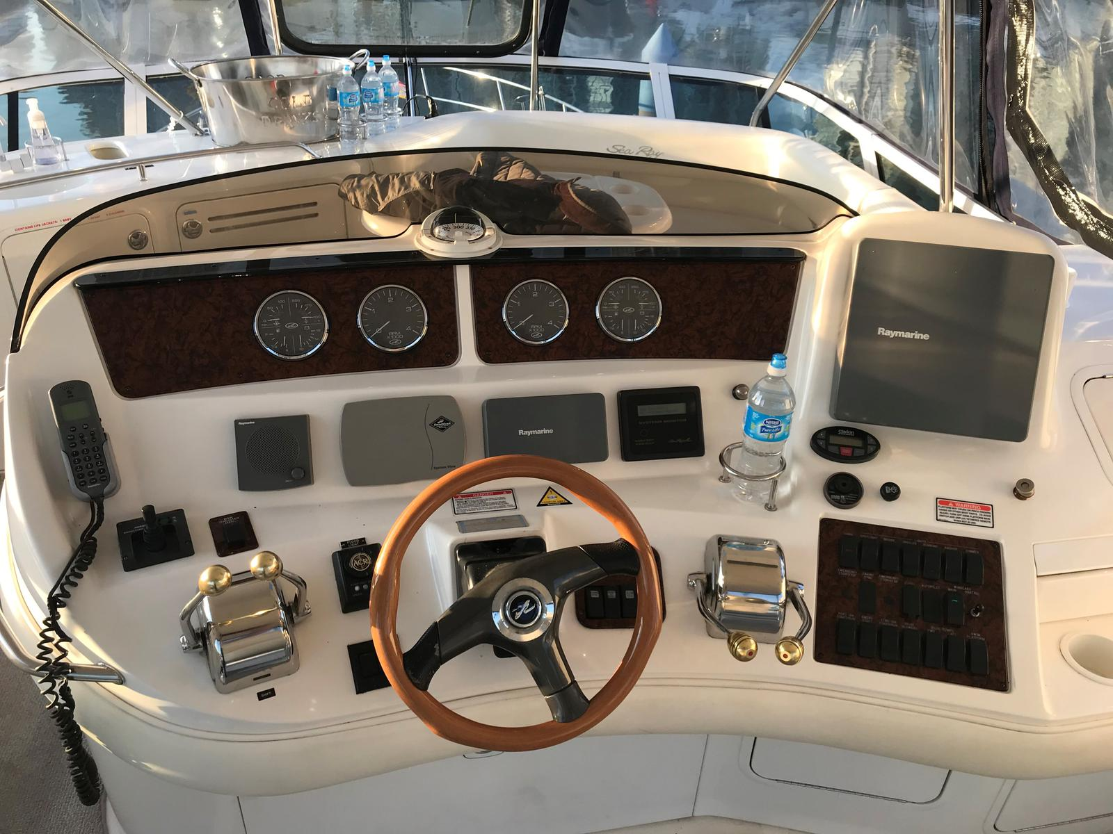 2004 Sea Ray boat for sale, model of the boat is 48 Sedan Bridge & Image # 2 of 12