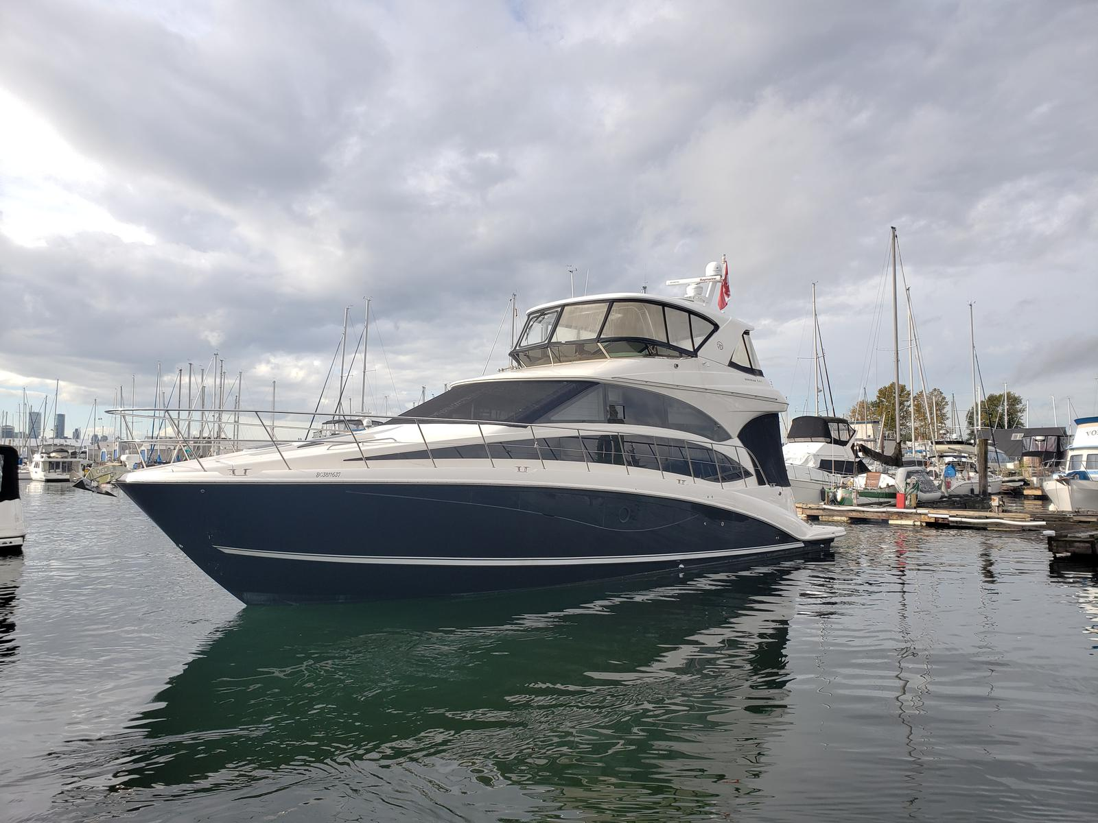 For Sale: 2012 Meridian 541 Sedan Bridge 54ft<br/>M & P Yacht Centre At Coal Harbour