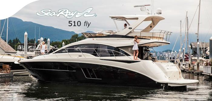 Sea Ray 510 Fly Dazzles Crowd