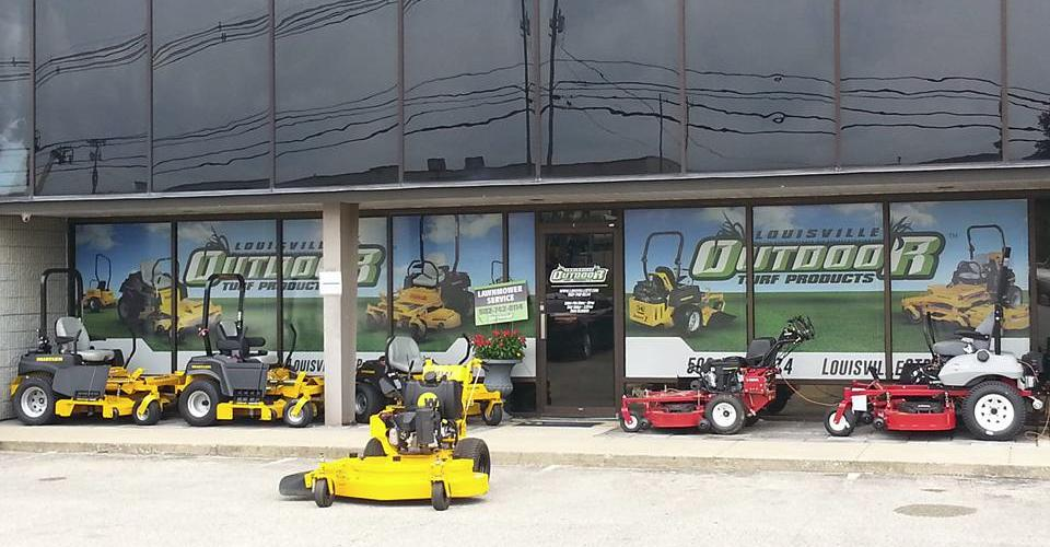 Louisville hustler mowers