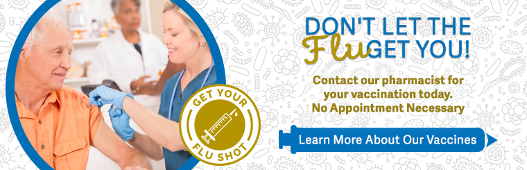 Get the Flu Shot & Other Vaccines at Globe Drug in Grand rapids, MN! Call us today with any questions!