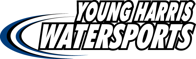 Young Harris Water Sports Logo