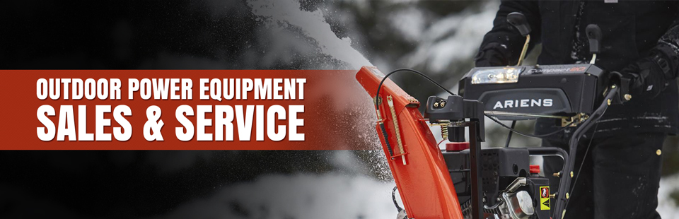 Blossom Lawn Center offers outdoor power equipment sales and service.