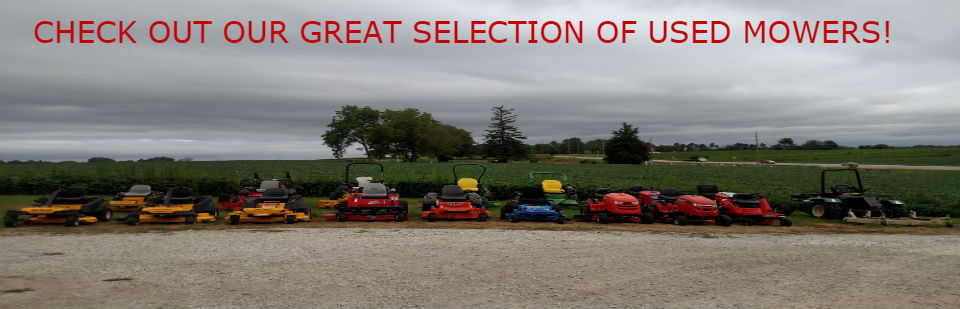 USED MOWER SELECTION