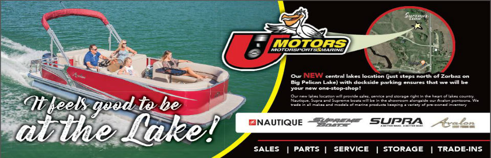 U Motors new location-Big Pelican Lake