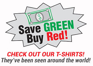 Save Green, Buy Red