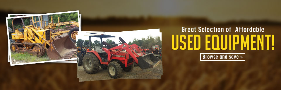 We have a great selection of affordable used equipment! Click here to shop our selection.