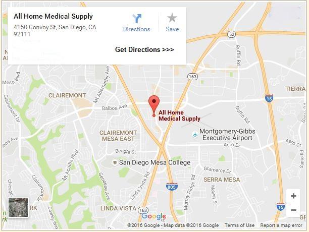 Rehab All Home Medical Supply San Diego, CA (858) 769-0444