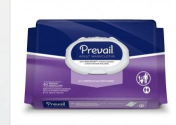 Prevail Washcloth Wipes
