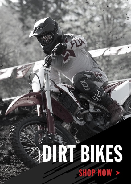 Honda Dirt Bikes Shop Now