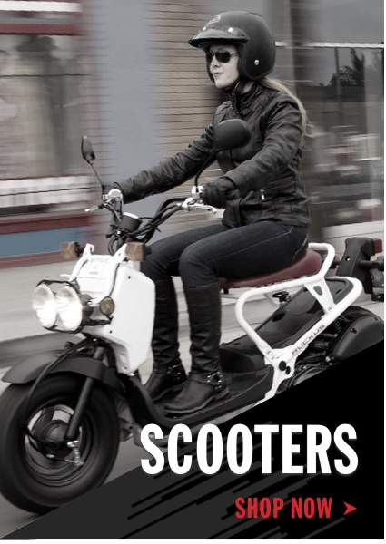 Honda Scooters Shop Now