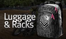 Metal Mulisha Luggage and Racks