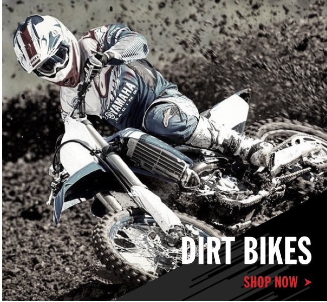 Yamaha Dirt Bikes Shop Now