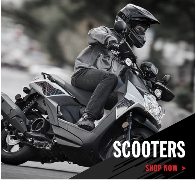 Yamaha Scooters Shop Now