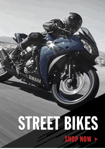 Yamaha Street Bikes Shop Now