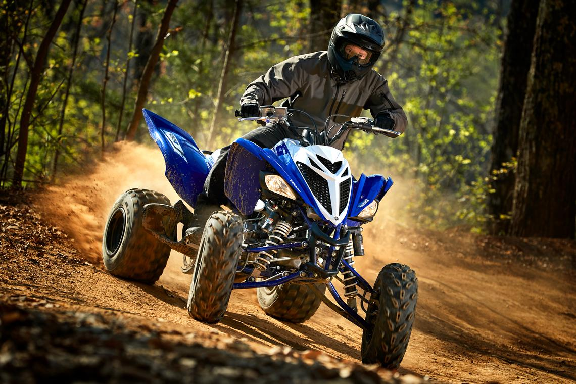 Yamaha sport UTV on dirt