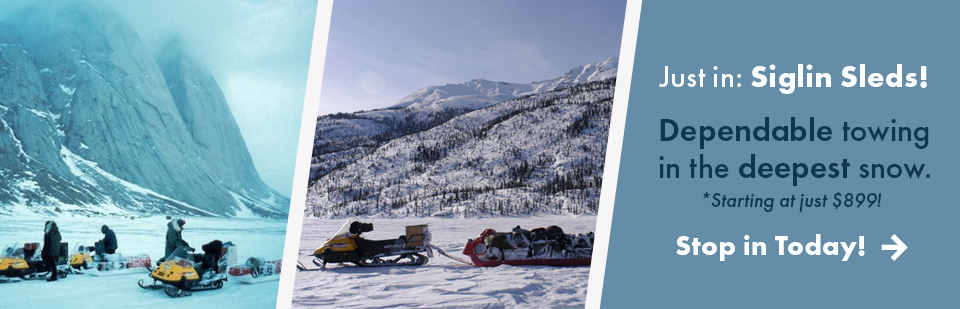 Shop Siglin Towing Sleds - largest selection in Fairbanks, AK!